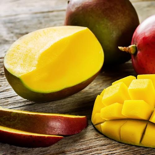 mango maturato in pianta